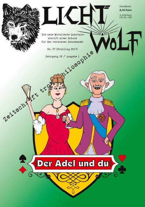 Lichtwolf Nr. 57 (Der Adel und du)